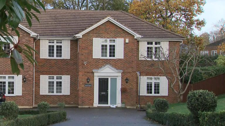 1 Ruxley Ridge was Sally Challen's former marital home