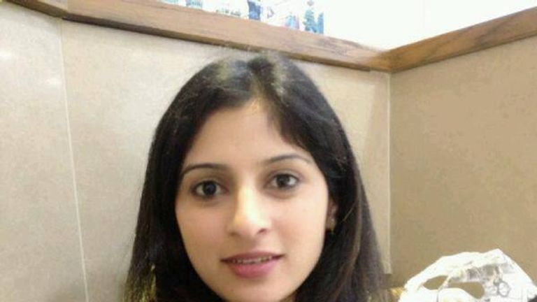 Devi Unmathallegadoo was killed while she was doing the washing up
