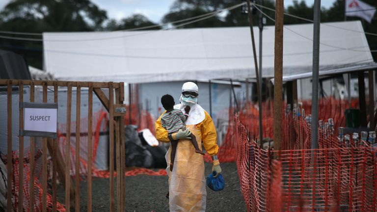 The Ebola epidemic killed more than 4,800 people in Liberia
