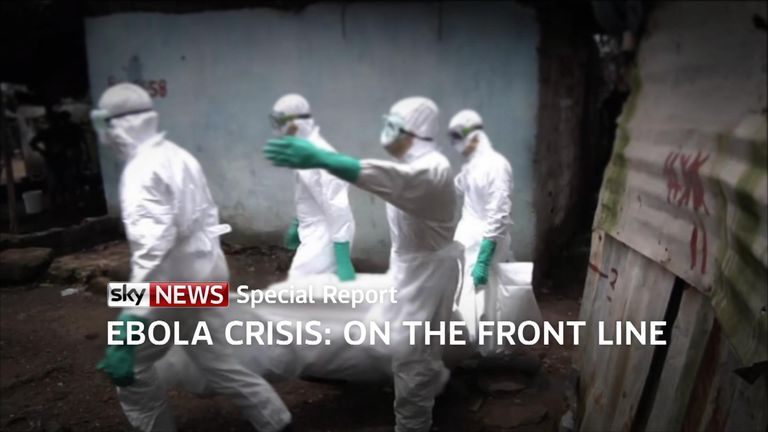 A look back at Sky's Alex Crawford's special report on the ebola crisis of 2015.