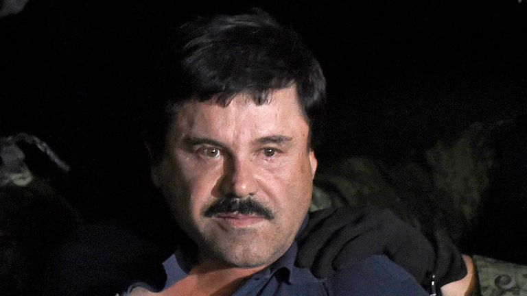 Guzman  was recaptured in 2016