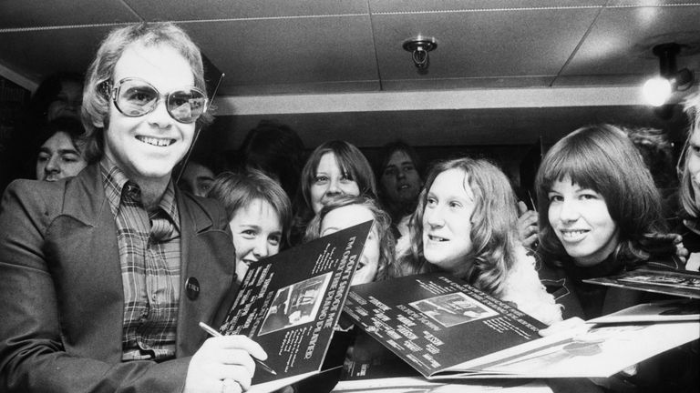 Elton John in 1973