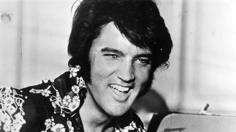 Elvis Presley has been awarded the Presidential Medal of Freedom