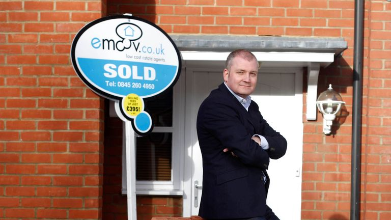 Russell Quirk, Founder of low cost online estate agency eMoov.co.uk 28/1/2014