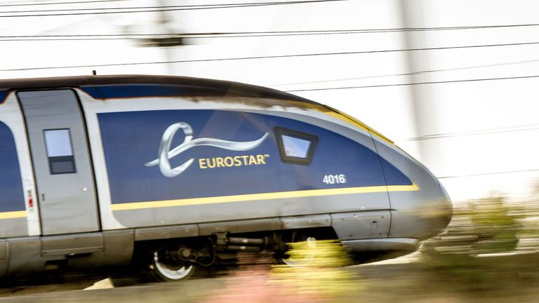 Eurostar warned passengers they could not bring bombs on board, replica or not