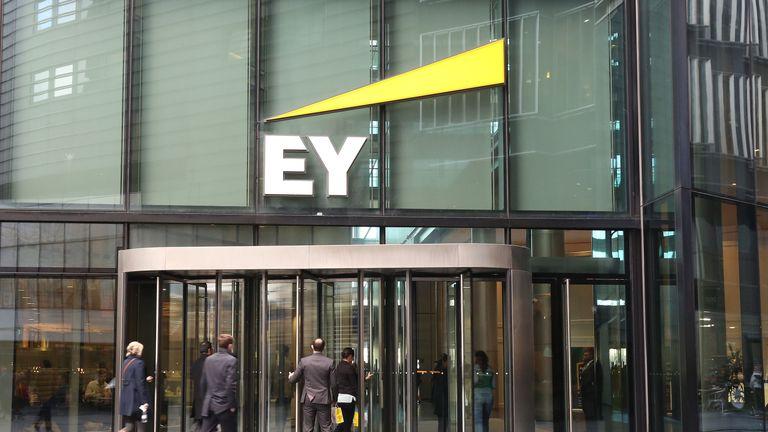 EY's global headquarters in London