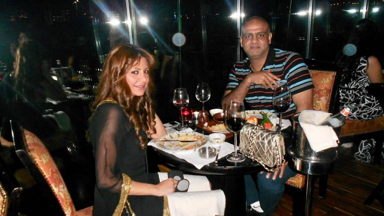 The couple lived the high life in Dubai