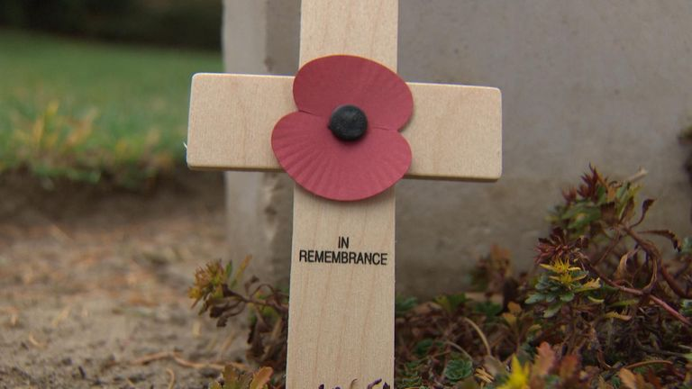 The first and last British casualties are buried just ten feet away form each other in this cemetery.
