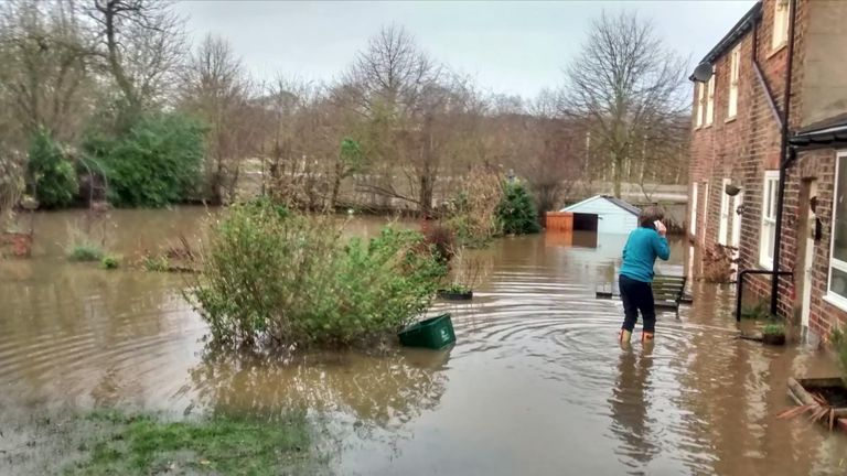 Serena Whitehead's house near River Ouse in York has been flooded three times in 15 years
