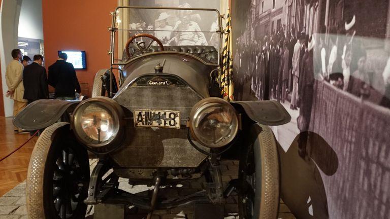 A II II 18': Franz Ferdinand's prophetic number plate