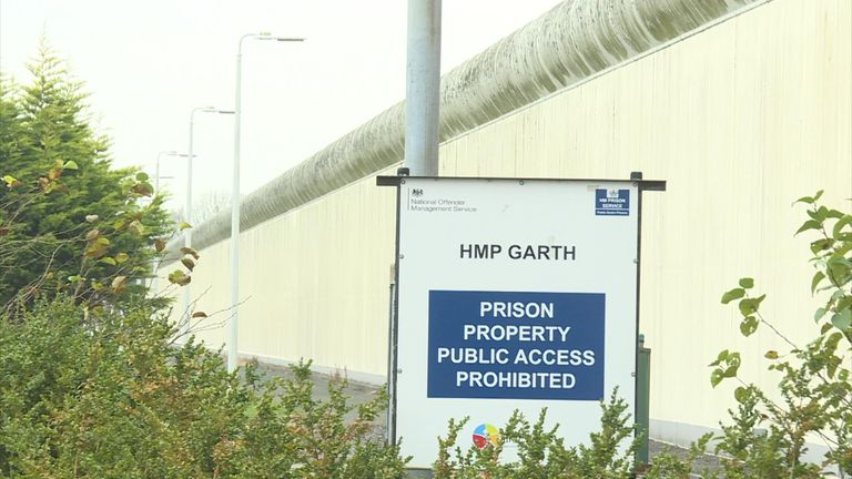 HMP Garth was described as the most violent prison ever inspected two years ago