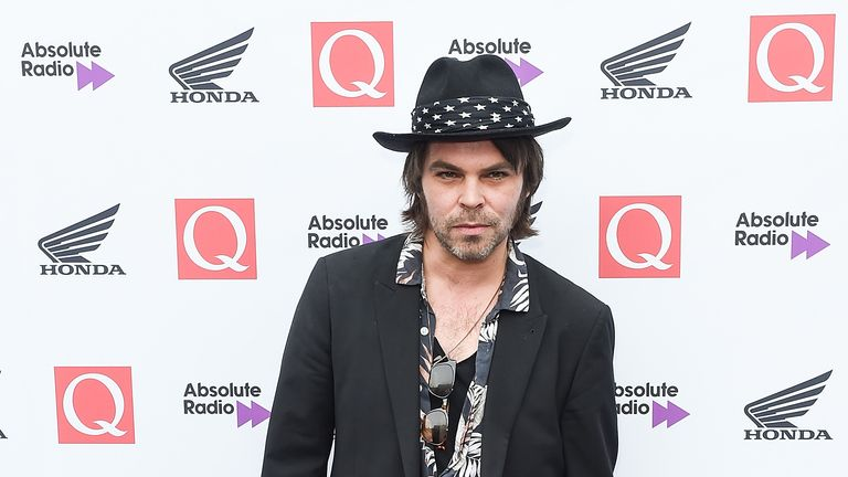Gaz Coombes attends the 2018 Q Awards at The Roundhouse in London