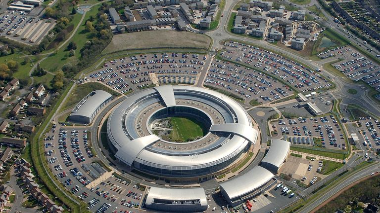 The intelligence and security services headquarters are based in Cheltenham. Pic: GCHQ