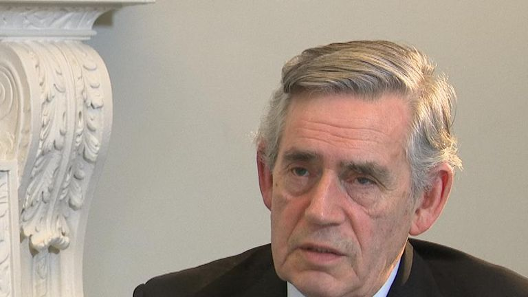 Former Prime minister Gordon Brown has concerns about the way Brexit is shaping up