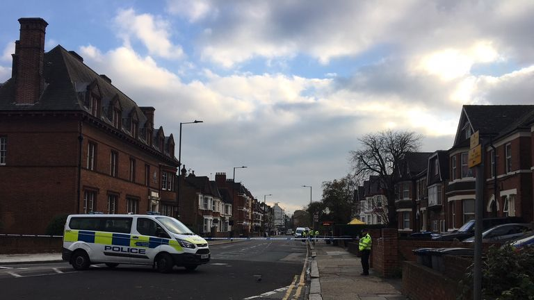 The bombs were found in a flat in Craven Park, Harlesden