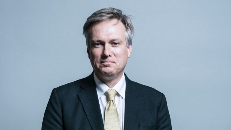 Henry Smith - UK Parliament official portraits 2017
