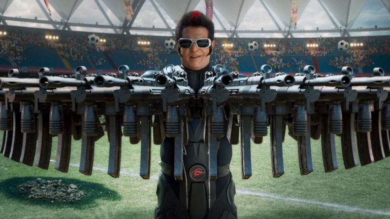 2.0, the most expensive Indian film ever, has been released in cinemas