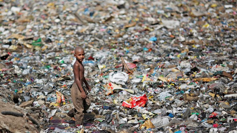 The case again highlights the dangers faced by vulnerable children in India. File pic