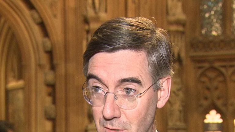 Brexiteer Jacob Rees-Mogg is not convinced by Mark Carney's no deal Brexit assessment