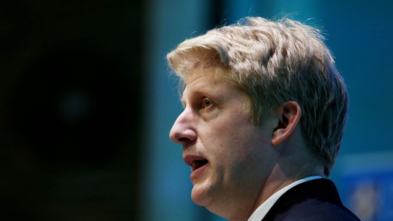 Jo Johnson has quit as transport minister