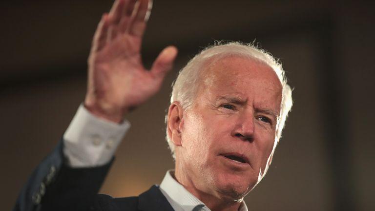 Former Vice President Joe Biden Campaigns