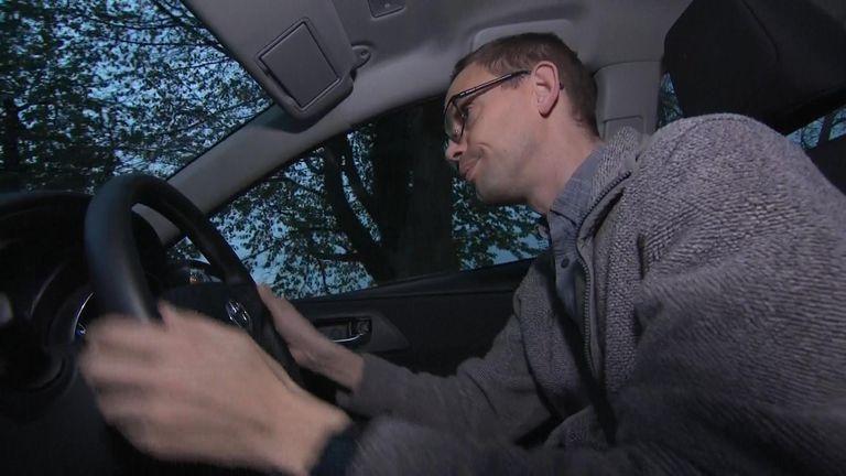 John Blackwell, 37, fell asleep at the wheel