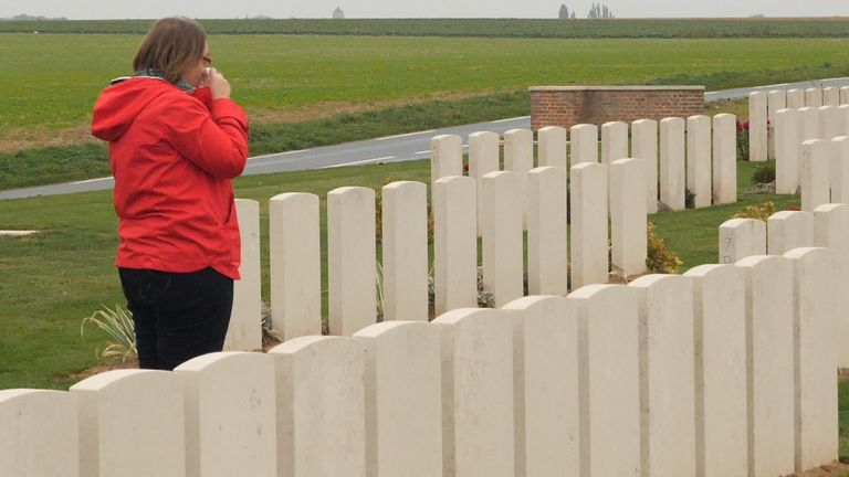 Jose Railton's two great, great, great uncles died fighting in the First World War.