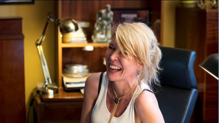 Julia Davis writes, directs and stars as Emma in Sky Atlantic show Sally4Ever