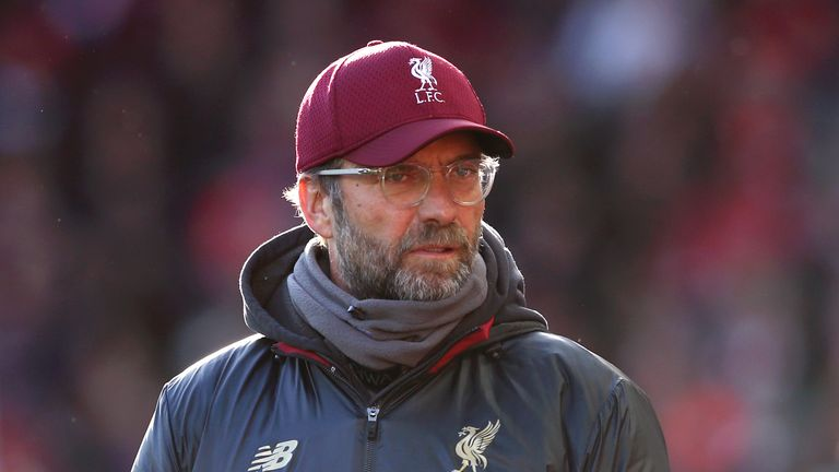Manager of Liverpool Jurgen Klopp says the club has 'no political message'