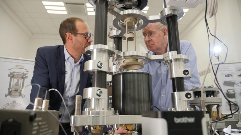 Work on a definition of a kilogram is taking place at the National Physical Laboratory