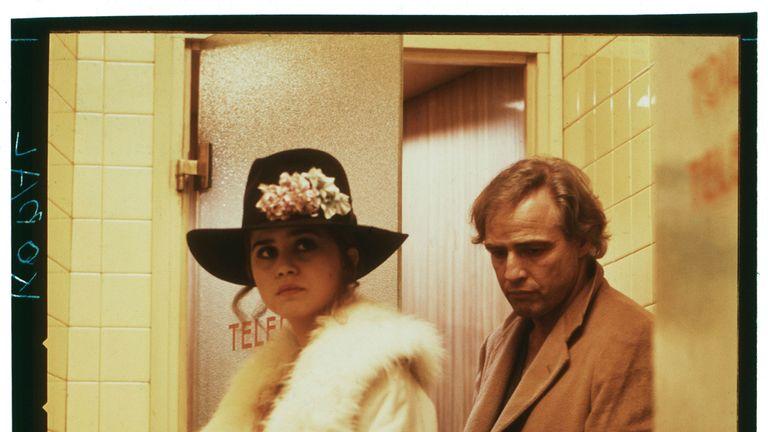 Maria Schneider and Marlon Brando in Last Tango In Paris