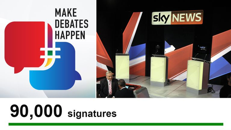 Fewer than 10,000 more signatures are required for MPs to have an opportunity to discuss it