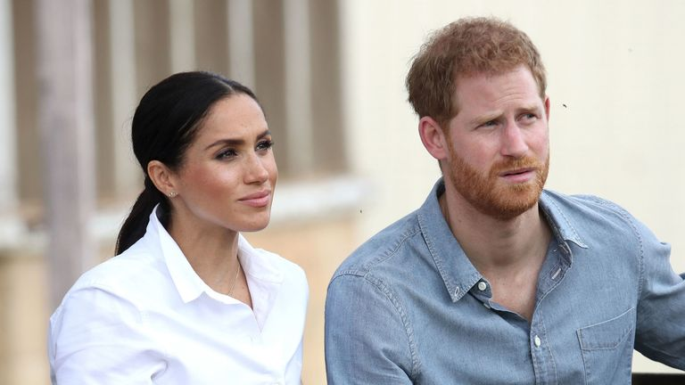 Meghan and Harry will move into their new home early next year