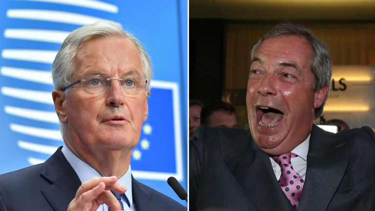 Michel Barnier has warned of the emergence of a Nigel Farage-type figure in other European countries