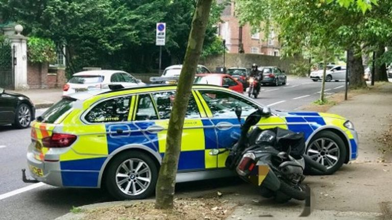 Met police target moped and motorcycle criminals