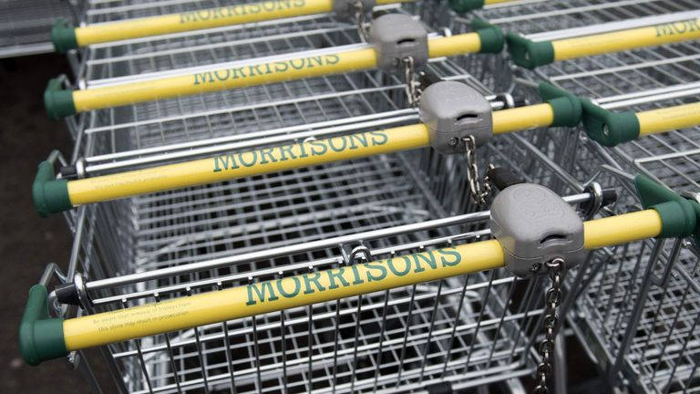 Morrisons is the UK's fourth-largest supermarket chain
