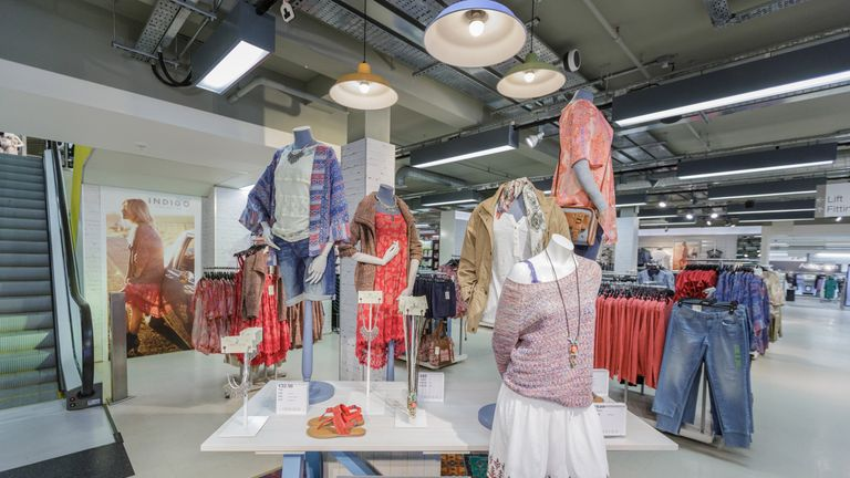 M&S has been looking to attract younger fashion shoppers