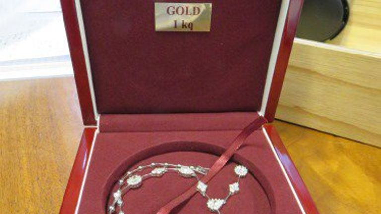 Jewellery worth £400k linked to first Unexplained Wealth Order (UWO) seized by NCA