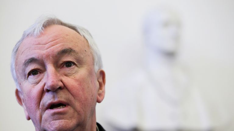 Cardinal Nichols said he was too unwell to attend