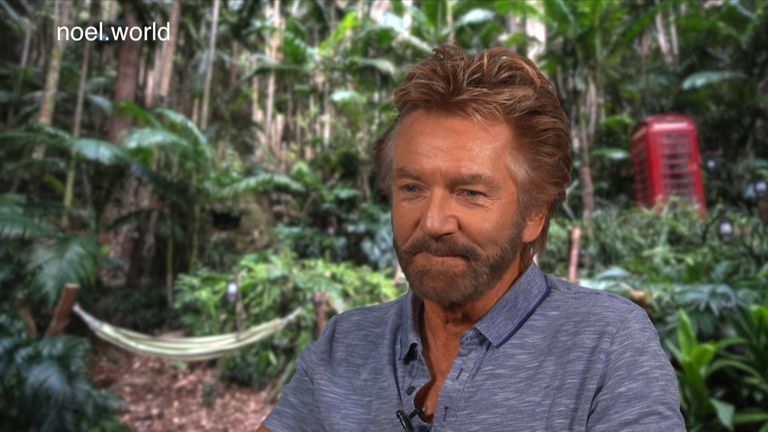 Noel Edmonds said the jungle will help him get away from the stress of his Lloyds fight. Pic: Radio Plymouth