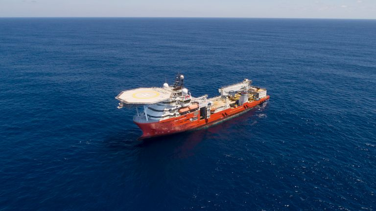 Ocean Infinity's ship Seabed Constructor