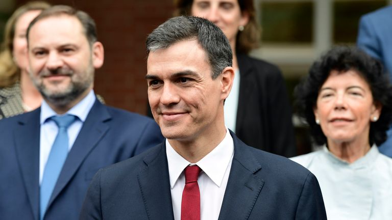 Pedro Sanchez wants assurances that Gibraltar would be treated separately in any future EU/UK trade deal