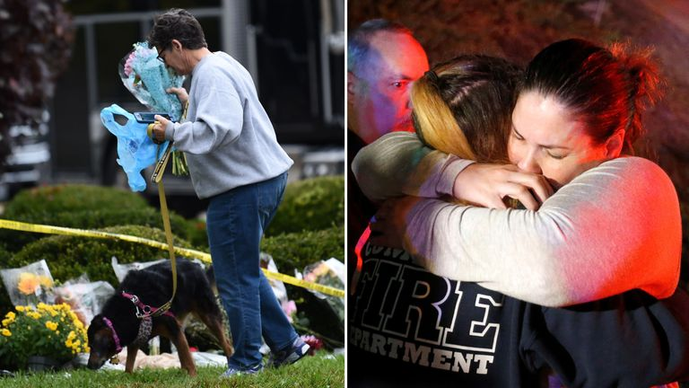 The US has recently seen shootings in Pittsburgh and Thousand Oaks