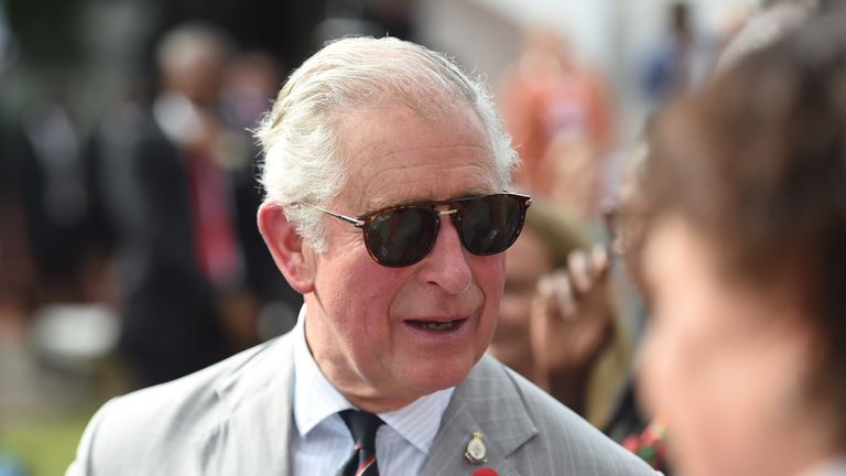 54fc889646b The Prince of Wales during his visit to the British Council Arts Festival  in Lagos