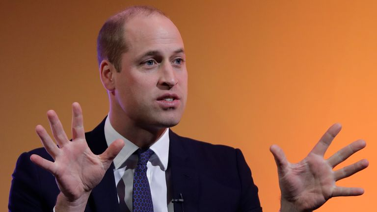 Prince William speaks about his time with the air ambulance
