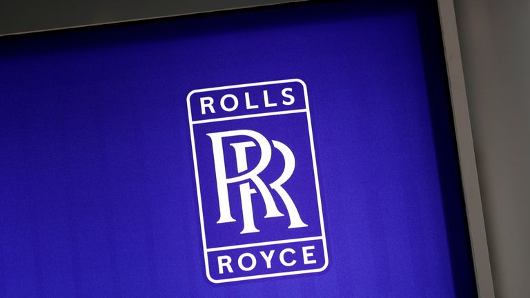The logo of Rolls-Royce is pictured at the World Nuclear Exhibition (WNE), the trade fair event for the global nuclear community in Villepinte near Paris, France, June 27, 2018