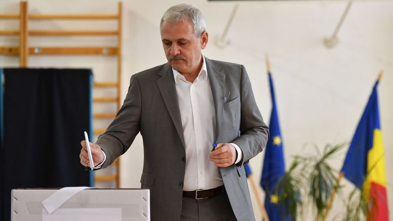 Liviu Dragnea, is now the chairman of Romania's Social Democratic Party (PSD)