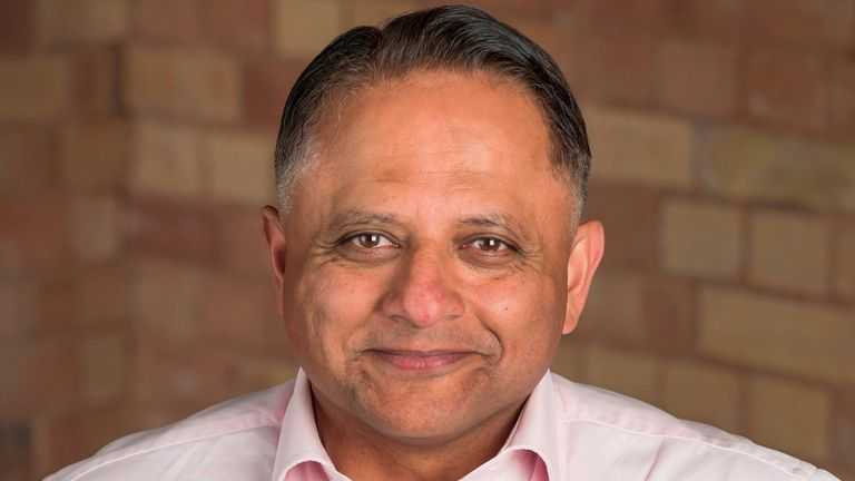 Rooney Anand is the chief executive of Greene King. Pic: Greene King