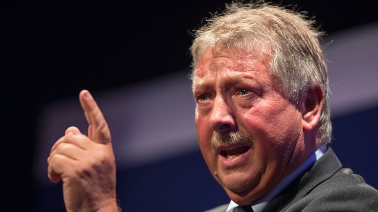 DUP politician Sammy Wilson