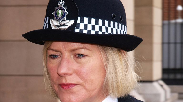 Sara Thornton is the former chief constable of the Thames Valley force